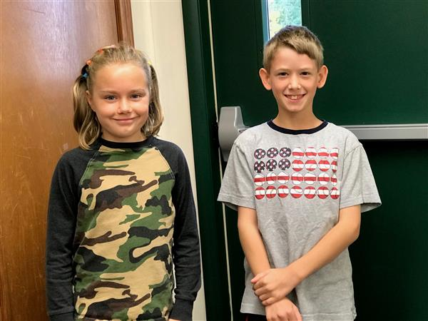 Good Shepherd Students Honor our Veterans